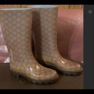 BNWB GUCCI Rain Boots